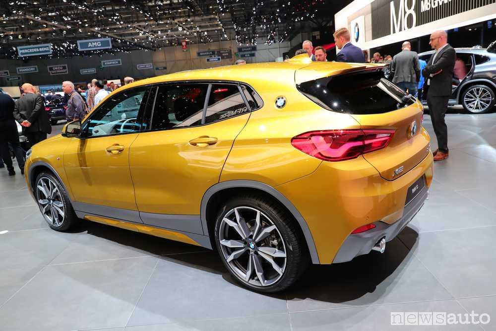 BMW X2 2018 Ginevra
