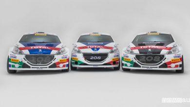 Photo of Peugeot al Rally del Ciocco 2018