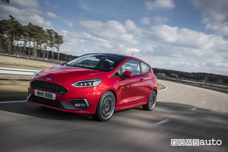 Auto diesel più vendute in italia Ford Fiesta ST 2018