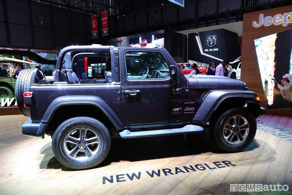 Jeep Wrangler 2018 Ginevra