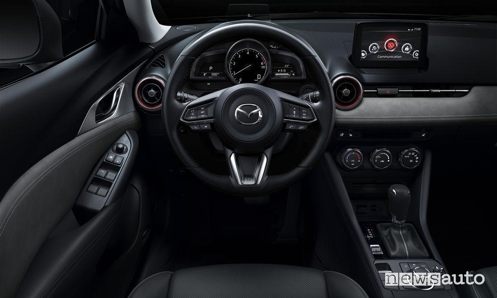 Abitacolo Mazda CX-3  restyling