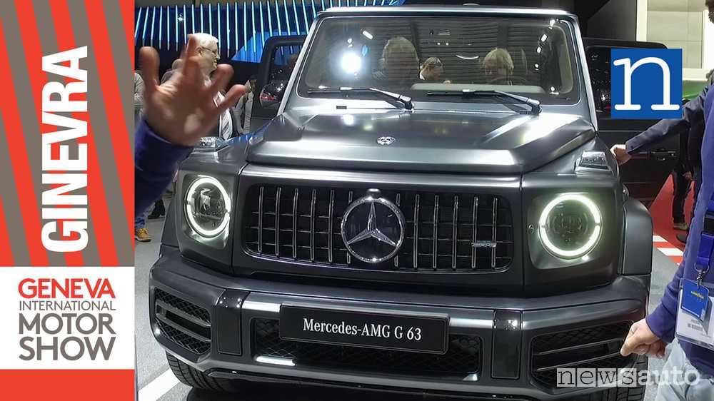 mercedes classe g amg 2018 63 suv ad alte prestazioni