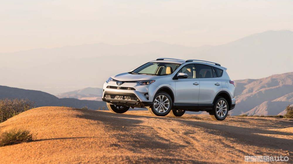 10 auto ibride più vendute in Italia Toyota Rav4 2018
