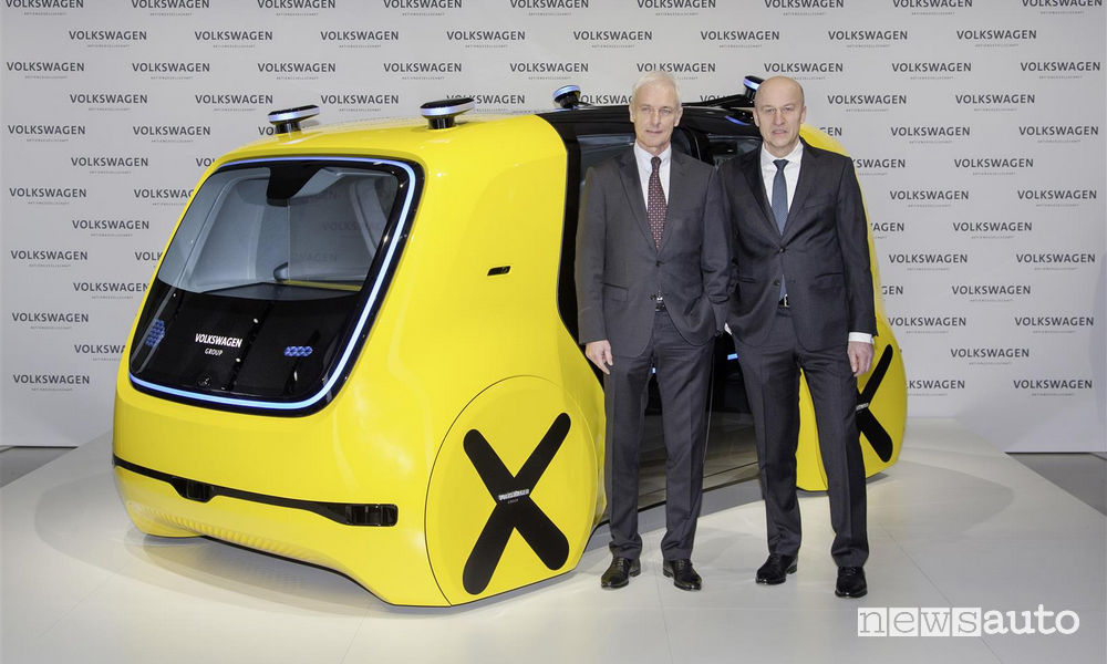 Volkswagen CEO Muller