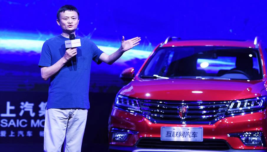 Alibaba-Simon-Hu Driverless car