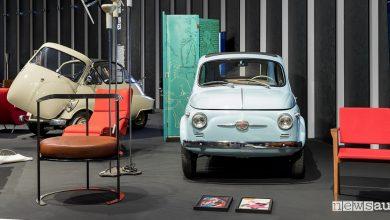Photo of Fiat 500 N 1958 alla triennale di Milano