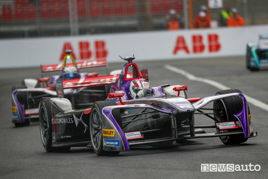 Formula E CLASSIFICA gara Parigi Sam Bird