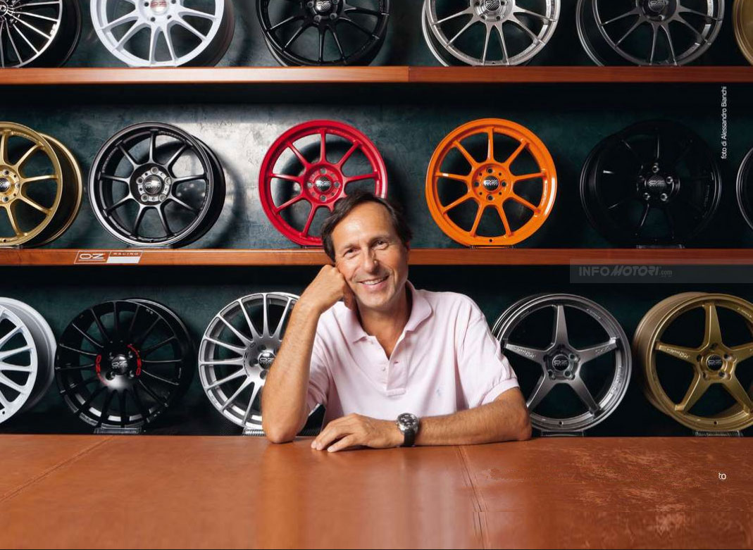 Ing Claudio Bernoni OZ Racing ruote formula 1