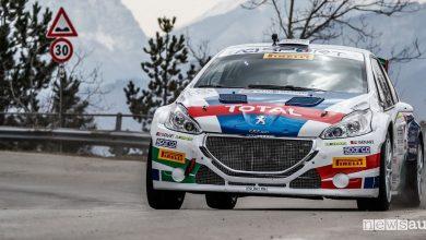 Photo of Peugeot e Andreucci al Rally Sanremo 2018