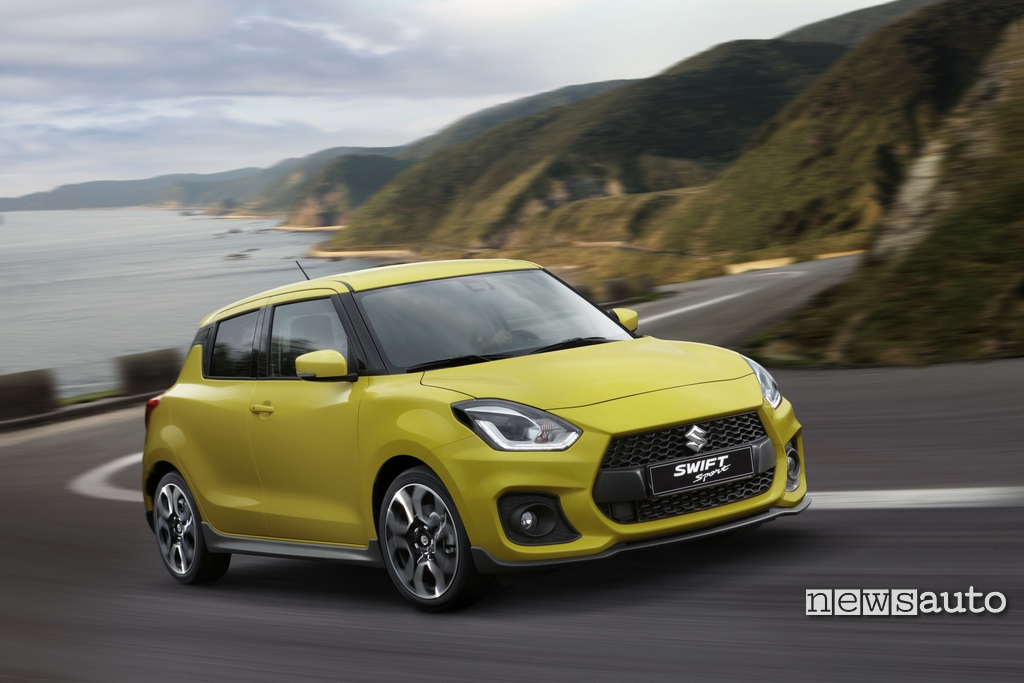 Suzuki Swift Sport come è fatta