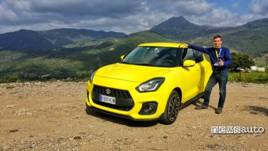 Suzuki Swift Sport la prova