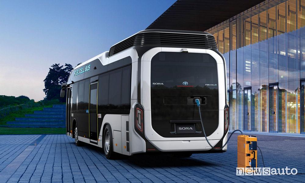 Autobus ad idrogeno Toyota SORA