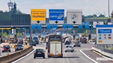 Aumento pedaggi autostrade 2019