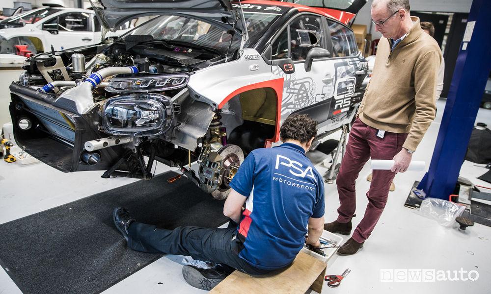 Auto da rally Citroen C3 R5