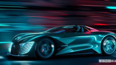 Auto del futuro DS XE E-Tense 2035