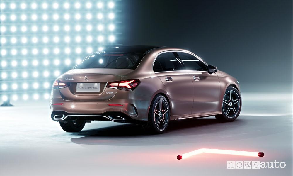 Mercedes Classe A cinese Salone di Pechino