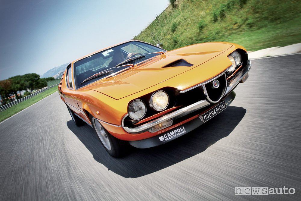 Alfa Romeo Montreal 2.6 V8 frontale