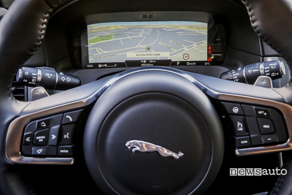 Jaguar xf sportbrake strumentazione digitale