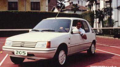 Photo of Peugeot 205 Lacoste Roland Garros