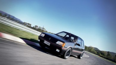 Photo of Peugeot 205 Gutmann la prova in pista