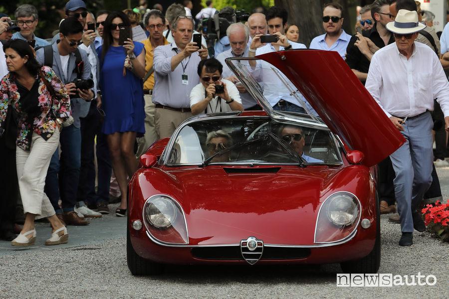 Alfa Romeo 33 Stradale Villa d'Este 2018
