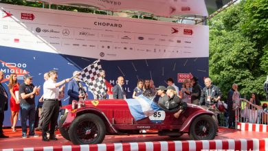 Classifica Mille Miglia 2018