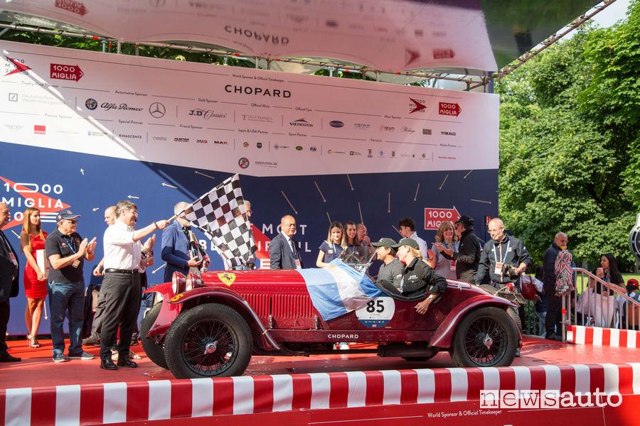 Classifica Mille Miglia 2018 arrivo a Brescia