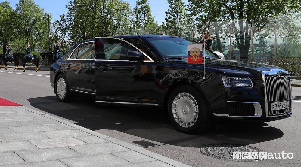 Nuova auto Presidenziale Russa