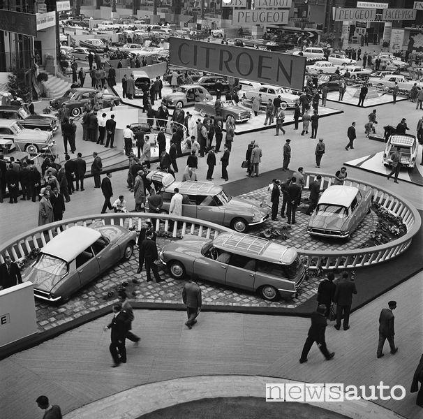Citroen ID 19 1959 Salone di Parigi