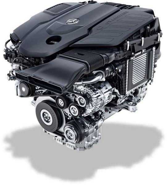 Mercedes diesel OM 656
