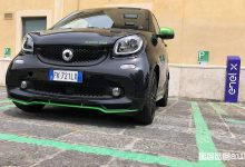 smart elettrica prova a Roma