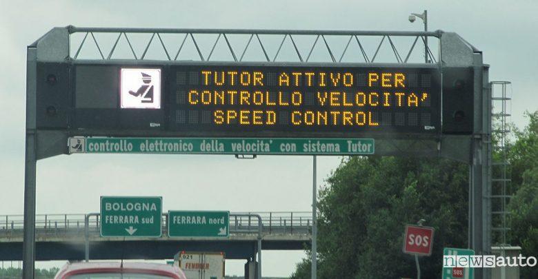 Nuovi tutor autostradali