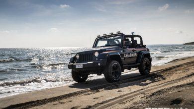 Photo of Jeep Wrangler ai Carabinieri, per pattugliare le spiagge