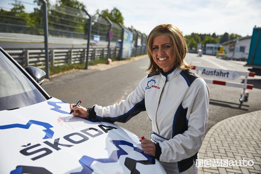 Record Nurburgring SKODA KODIAQ RS