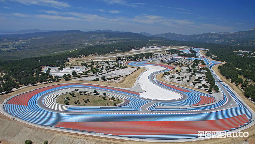 Orari Gp Francia F1 2019 circuito di Paul Ricard a Le Castellet in Francia