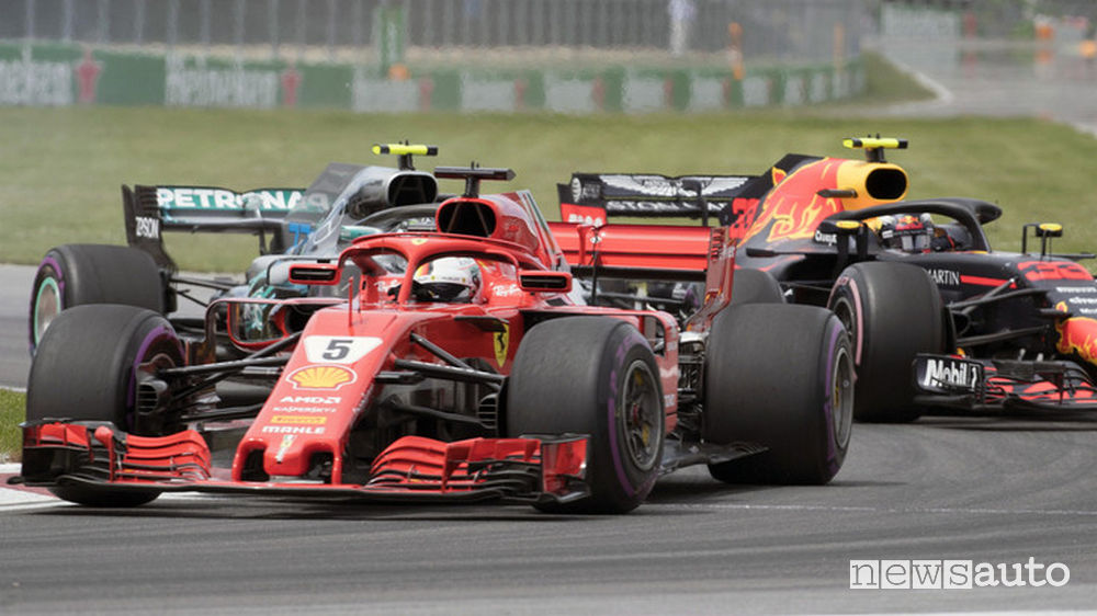 F1 2018 classifiche gara Canada