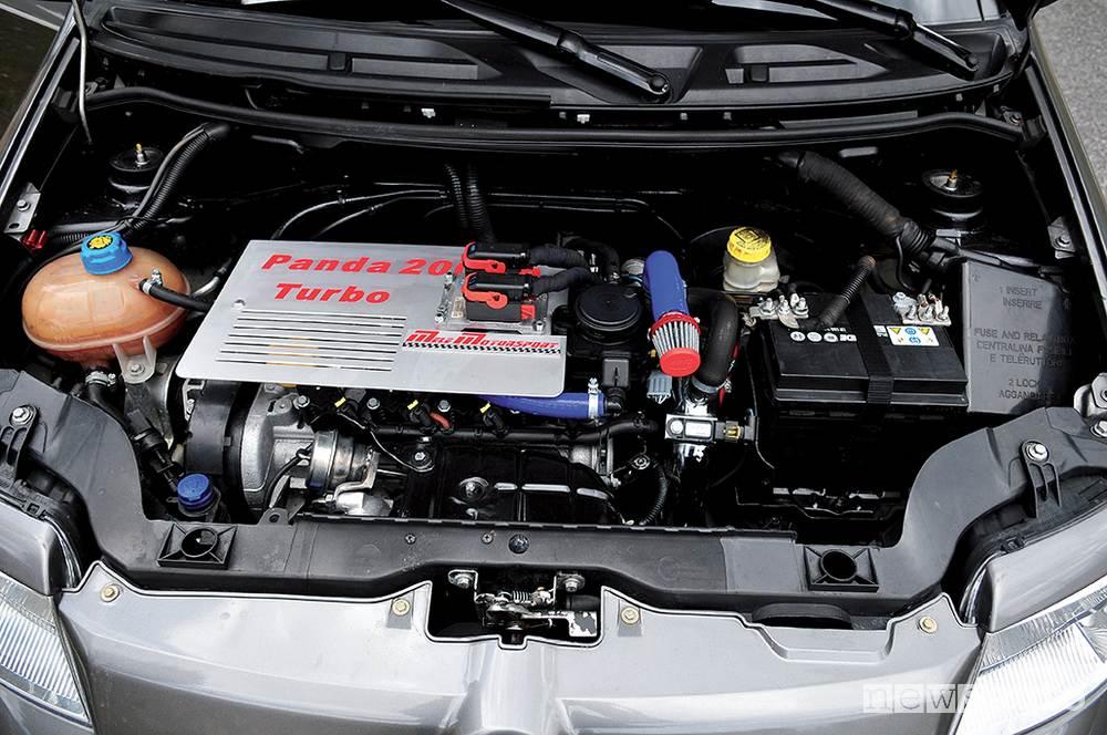 Fiat Panda Turbo motore