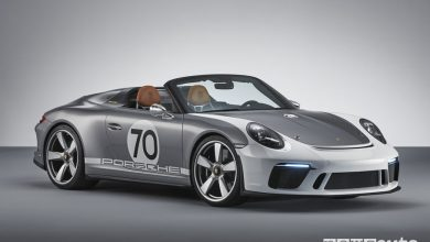 Photo of Porsche 911 Speedster Concept: modello celebrativo