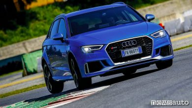 Photo of Audi RS3 prova verità al limite in pista ad Anagni
