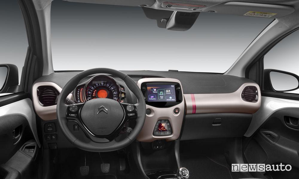 Abitacolo Citroen Nuova C1 serie speciale Elle