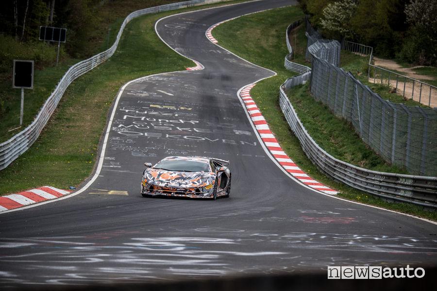 Record nurburgring 2018, Lamborghini Aventador SVJ
