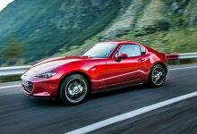 Mazda MX-5 2019 RF rossa laterale