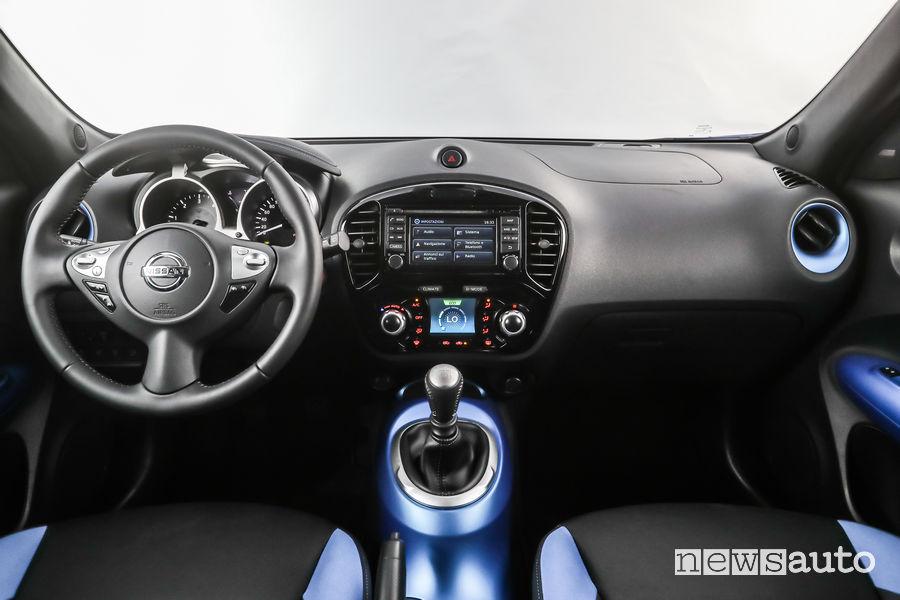 Nissan Juke MY18 abitacolo