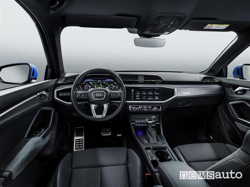 Nuova Audi_Q3 2019 abitacolo