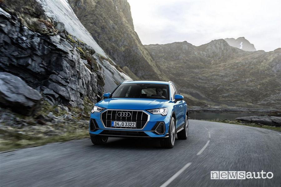 Nuova Audi_Q3 2019 vista frontale
