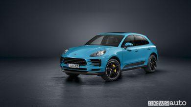 Nuova Porsche_Macan vista di profilo 2019