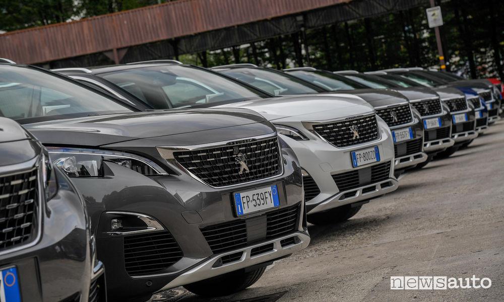 Vendite auto Peugeot settembre 2018
