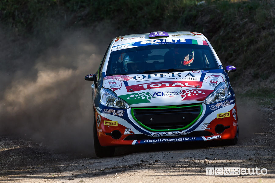 Peugeot Competition TOP 208 Rally di Roma 2018 Ciuffi