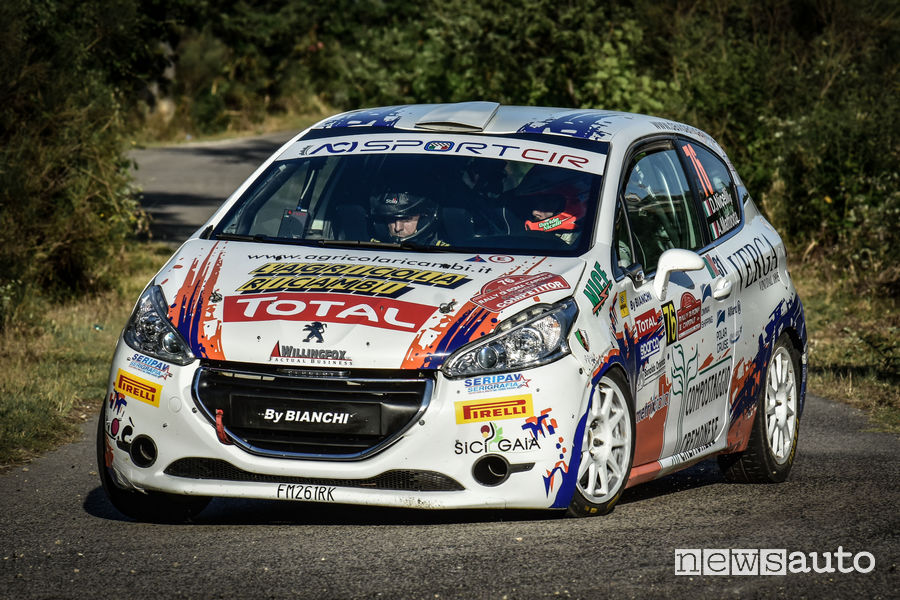 Peugeot Competition TOP 208 Rally di Roma 2018 Nicelli