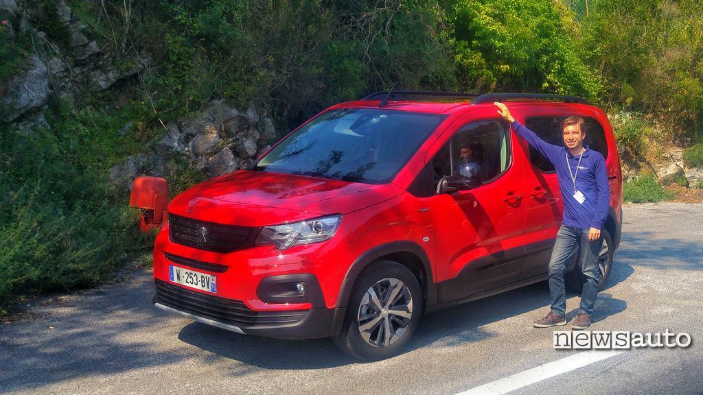 Peugeot Rifter prova